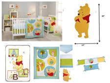 disney winnie the pooh friends nursery bedding sets ebay