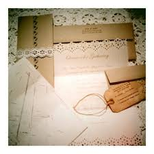 DIY Vintage Inspired Wedding Invitations