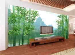 100 Bamboo Walls 3d Room Wallpaper Custom Photo Non Woven Mural Huge HD Forest