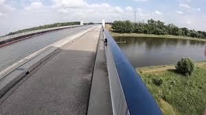 100 Magdeburg Water Bridge Kanalbrcke SaxonyAnhlat Germany 3rd June 2018
