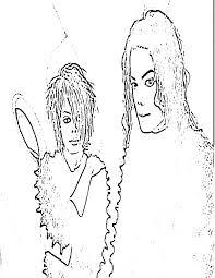 Zonae Coloring People Michael Jackson