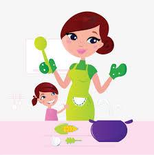 cuisine maman ma mère cuisine maman cuisiner enfants image png pour le