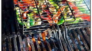 barbecue a la plancha poivrons aubergines courgettes marinés grillés au barbecue à
