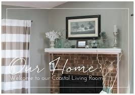 Beach Decor Series Our Coastal Living Room