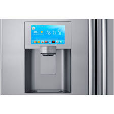 48 Cabinet Depth Refrigerator by Amazon Com Samsung Rs27fdbtnsr Built In Side By Side Refrigerator