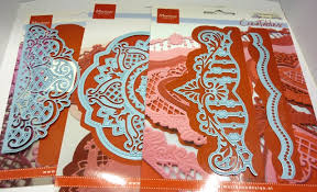 Start By Die Cutting Embossing And Inking 2 Of Anjas Vintage Decoration 1 Border The Decorative Circle From All