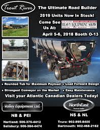 Be Sure To Visit Our Atlantic Canadian Dealers Valley Equipment Ltd ...