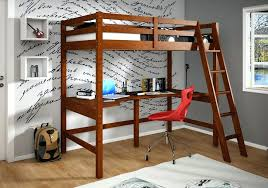 desk bunk beds combo painted loft with all home ideas and decor