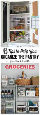 Small Kitchen Organizing Ideas How To Organize Your Pantry Clean And Scentsible