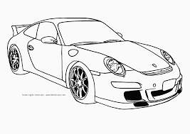 Car Coloring Pages For Boys Print Inside