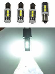 shop 4pcs white ba9 ba9s 5730 10 smd 500 lumens with