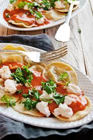Pumpkin Ravioli Filling Ricotta by Beef Ravioli With Creamy Tomato Sauce The Charming Detroiter