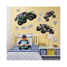 Monster Jam Giant Wall Decal | Monster Jam, Wall Decals And Products Monster Truck Wall Decal Personalized Name For Boys Room Decor With Decalmonster Decorwall Etsy Vinyl By Homesweetwalls On 5800 Red Blue Sticker Transport Sport Decals Stickers Car Pickup Garage Megalodon Huge Officially Licensed Jam Removable Wallpops Multicolor Outrageous Trucks Decalwpk2576 The Home Lightning Mcqueen Grave Digger Pack Decalcomania Cars And Warrior Giant Dragon Launch Os_mb592