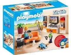 playmobil dollhouse gemütliches wohnzimmer 70207
