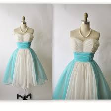 50 s Chiffon Wedding Dress Vintage 1950 s Strapless Ruched