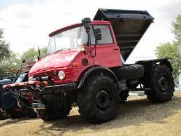 100 Dump Trucks Videos Fieldside Classic MercedesBenz Unimog 406 AWD Tractor