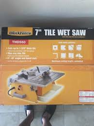upc 692042205019 workforce thd550 7 tile cutter wet saw