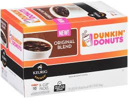 Dunkin Pumpkin Spice K Cups by Dunkin U0027 Donuts Original Blend K Cup Hy Vee Aisles Online Grocery