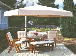 Offset Rectangular Patio Umbrellas by Rectangle Patio Umbrella Kbdphoto