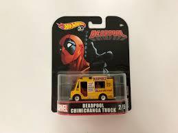100 Uke Truck Hotwheels Deadpool On Carousell