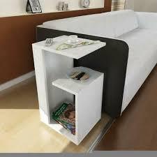 beistelltisch weiss tisch holz couchtisch wohnzimmer nachttisch telefontisch 1551