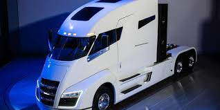 100 Simi Trucks Nikola CEO Says ZeroEmissions Semi Face Crunching