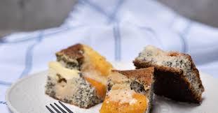 aprikosen quark kuchen mit mohn und streusel