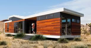 micro maison préfabriquée contemporaine en bois de plain
