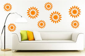 Flower Wall Decals Living Room DecorGirls Bedroom DecalKitchen Decal