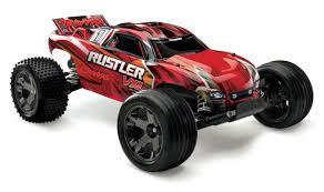 Traxxas Rustler VXL Brushless 1/10 RTR Stadium Truck W/ TQi Radio ...