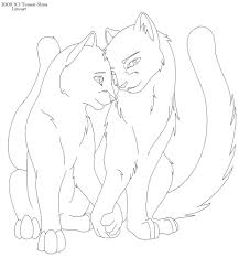 Beautiful Warriors Cats Bluestar Coloring Pages Zomunggah With Cute
