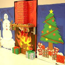 Polar Express Door Decorating Ideas by 40 Office Christmas Decorating Ideas All About Christmas