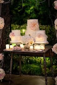 Vintage Wedding Cake Floral Gold Coast