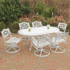 Home Styles Biscayne 7-Piece White Aluminum Patio Dining Set At ... Zuo Mayakoba White Stationary Alinum Outdoor Ding Chair 2pack Best Patio Fniture And Metal Garden Table Folding Lofty Clearance Epic Wrought Iron Sets Chair Lisa White Breeze Ding Chair Shiaril 5 Pc And Navy Set Setting Chairs Wicker Room Resin Modern Cushions Of 20 High Gloss By Andre Putman For Emeco Mamagreen Sr Hughes Grace 6 Seater Warehouse