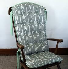 Custom Tribal Arrow Rocking Chair Cushions Glider ...