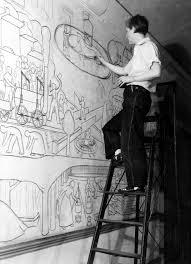 Diego Rivera Rockefeller Mural by Creating The Mural Ann Rice O U0027hanlon U0026 The Memorial Hall Mural