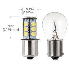 1156 led bulb 18 smd led tower ba15s retrofit led brake
