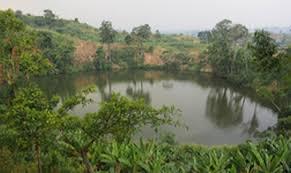 Explosion Crater Lakes In Western Uganda