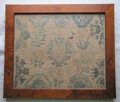 Quaker Maid Kitchen Cabinets Leesport Pa by 1809 Quaker Sampler Samplers Pinterest Cross Stitch