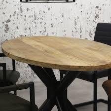 esstisch oval tygo mangoholz 180x100 cm