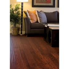 Home Legend Bamboo Flooring Toast by Hand Scraped Hickory Tuscany 3 8 In T X 4 3 4 In W X Varying
