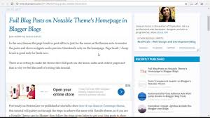 Show Full Blog Posts On Notable Theme - Blogger Tutorial By ... 20 Best Three Column Wordpress Themes 2017 Colorlib Beautiful Web Design Template Psd For Free Download Comic Personal Blog By Wellconcept Themeforest Modern Blogger Mplate Perfect Fashion Blogs Layout 50 Jawdropping Travel For Agencies 25 Food Website Ideas On Pinterest Website Material 40 Clean 2018 Anaise Georgia Lou Studios Argon Book Author Portfolio Landing Devssquad