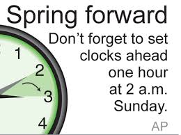 We lose an hour of sleep Sunday when we spring forward for