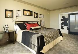 mickey mouse bedroom making children sleep more soundly cement