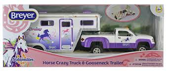 Amazon.com: Breyer Stablemates Horse Crazy Truck And Trailer Vehicle ... Bruder 02749 Man Tga Cattle Transportation Truck With 1 Cow New Breyer Horse And Trailer Breyer 5356 Stablemates Gooseneck In Box Traditional Two Millbry Hill Amazoncom Animal Rescue And The Best Of 2018 Pickup Fort Brands 5352 Wyldewood Tack Shop Used Red Dually Truck Trailer Sn14 North Wraxall For 19 Scale Twohorse Horze Series Dually