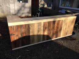 Amazing Diy Wood Bar DIY Pallet L Shape Desk Counter And Table Pallets