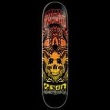zero skateboards tommy sandoval gunslinger skateboard deck 8 12