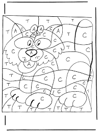 Free Coloring Pages Numbers 1 20