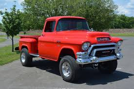 100 1956 Gmc Truck For Sale 1955 GMC 100 Napco 4x4 Step Side Pickup Rides Pinterest GMC
