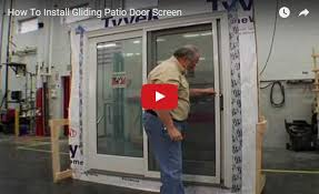 How To Install Patio Screen Door Free line Home Decor